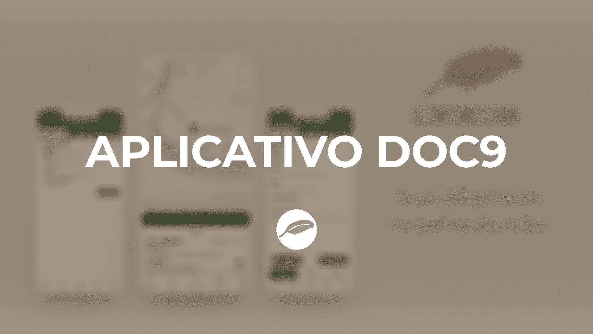 Aplicativo DOC9 para a Gestão das suas Diligências Forenses - Advogado Correspondente Jurídico DOC9